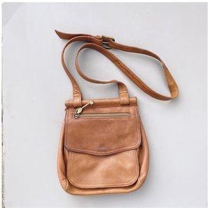 Fossil Brown / tan Crossbody Bag